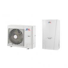 Šilumos siurblys oras-vanduo Cooper&Hunter CH-HP8.0SINK2 be karšto vandens talpos su vesinimo funkcijos 8 kW 230/400V su 6 kW tenu