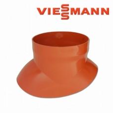 Plokščiojo stogo apvadas DN 60/100 ir DN 80/125 Viessmann raudonų čerpių spalvos 7174279