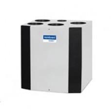 Rekuperatorius Komfovent Domekt-R-300-V, kondensacinis, automatika C6, kairinis, su el. šildytuvu, be valdymo pulto, M5/M5 filtras, Vertikalus