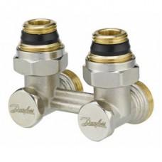 """H uždarymo ventilis RVL-K 1/2"""" vienvamzdžiai sistemai, kampinis Danfoss 003L0282"""