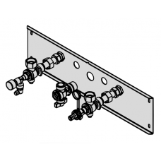 Alternatyvios armatūros montavimui ant tinko  Viessmann Vitodens 100-W, 200-W katilams ZK04925